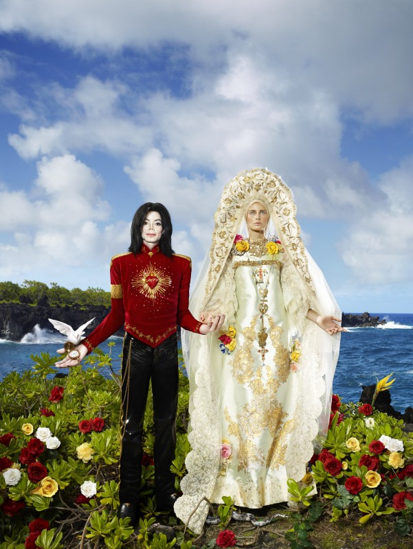Lachapelle, burning beauty Micheal Jackson